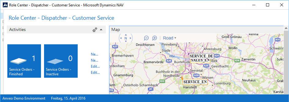 GPS Tracking for Microsoft Dynamics NAV