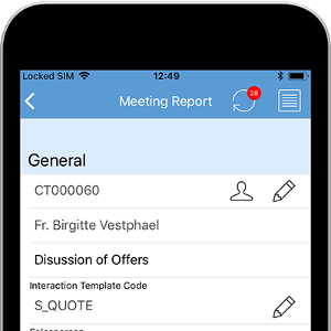 Anveo Mobile App Meeting Report