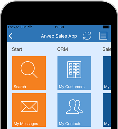 Anveo Mobile App, Web Portal and EDI for Microsoft Dynamics